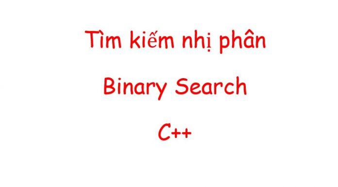 binary search algorithm c